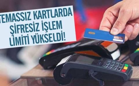В Турции увеличен лимит по бесконтактной оплате