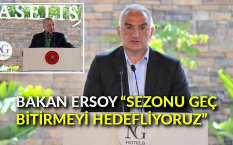 Министр туризма Турции: «Продлим сезон до конца года»