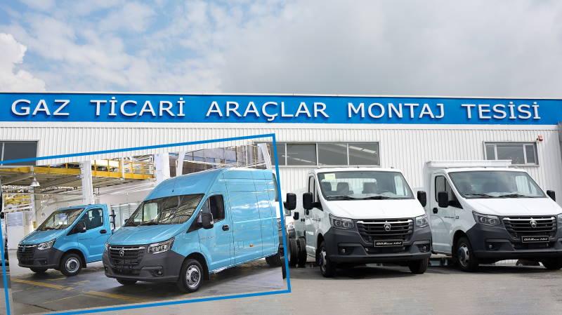 В Турции началось производство новой «ГАЗели NN»