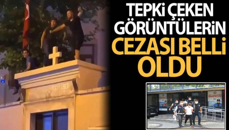 2 стамбульца арестованы за танцы на стене церкви