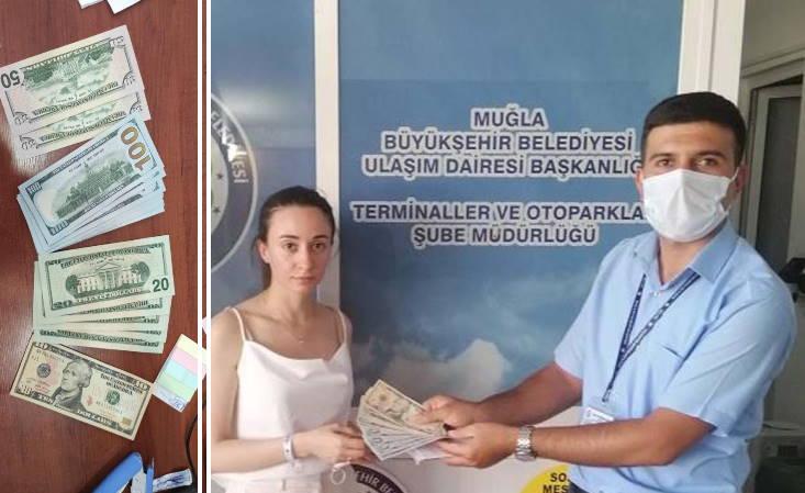 Водитель автобуса вернул российской туристке $1210