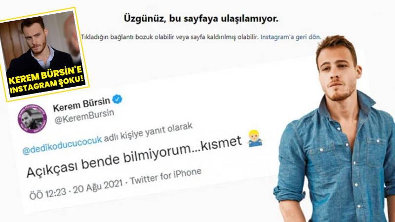 Керем Бюрсин лишился 9 млн подписчиков в Instagram