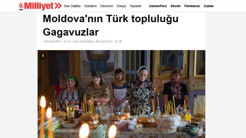 Гагаузы — тюркская общность в Молдове