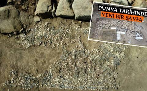 Самую древнюю мозаику в мире обнаружили в Йозгате