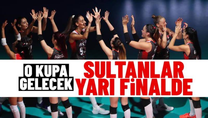 «Султанши» вышли в полуфинал чемпионата Европы