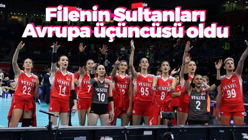 «Султанши» вернулись с бронзой Чемпионата Европы