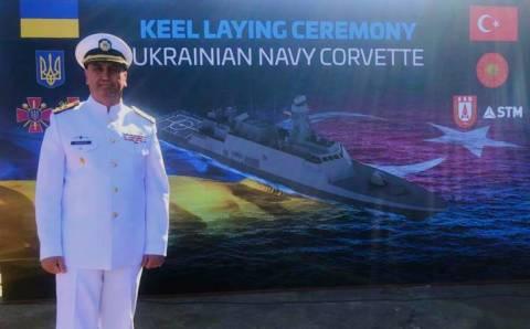 Турция начала строительство корвета для ВМС Украины