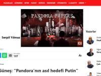 Настоящая цель «Пандоры» — Путин