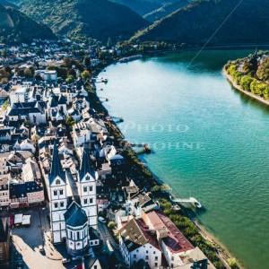 Boppard am Rhein Luftaufnahme - News vom Rhein