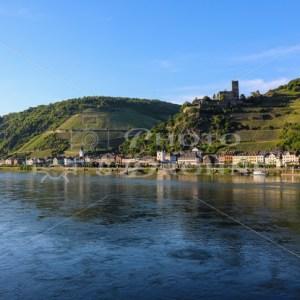 Kaub am Rhein im Abendlicht - News vom Rhein