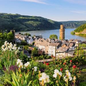 Welterbegärten in Oberwesel am Rhein