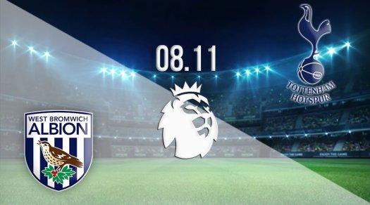 West Bromwich vs Tottenham Prediction: PL | 08.11.2020 - 22bet
