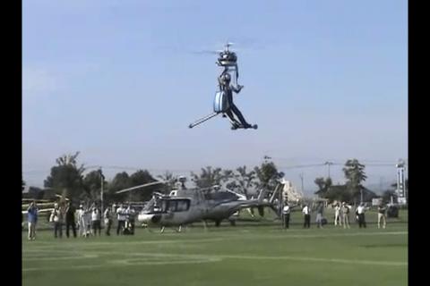 現代のタケコプター「GEN H-4」
