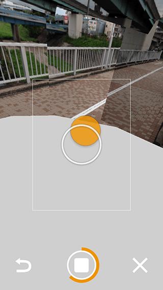 Photo Sphere Camera パノラマ写真の撮影方法04