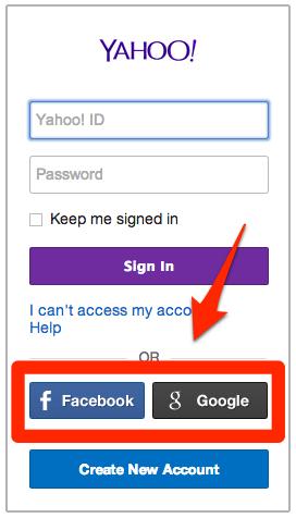 Flickrアカウント作成 Google・Facebook