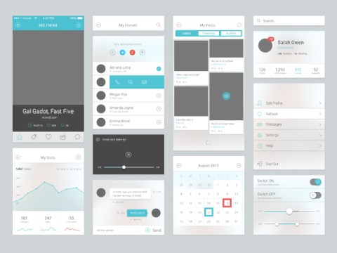 iOS 7 UI Components