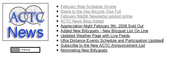 ACTC News
