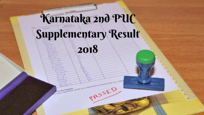 Karnataka 12th Result 2018