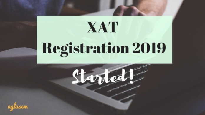 XAT Registration 2019