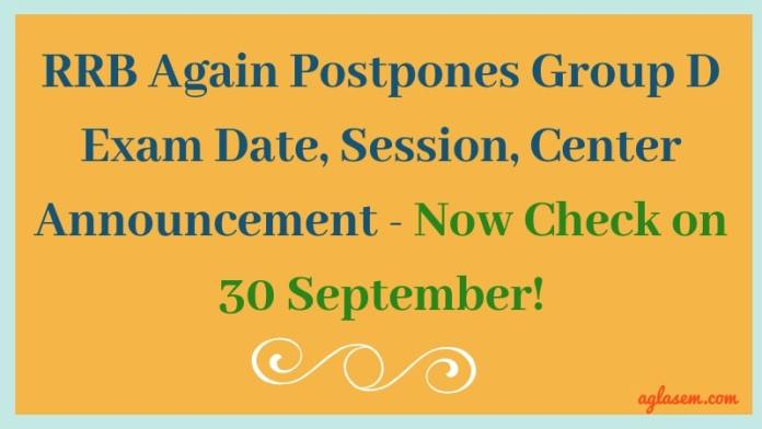 RRB-Again-Postpones-Group-D-Exam-Date-Session-Centr