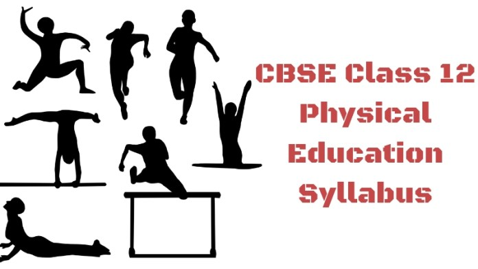 CBSE Class 12 Physical Education Syllabus