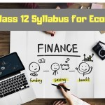 CBSE Class 12 Syllabus for Economics