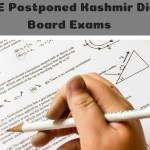 JKBOSE Postponed Kashmir Division Board Exams