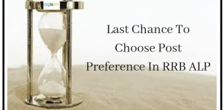 Last Chance To Choose Post preference In RRB ALP