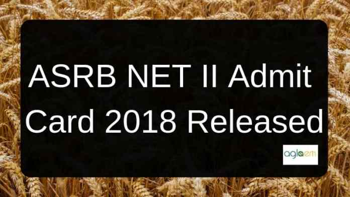 ASRB-NET-Admit-Card-2018