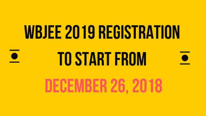 WBJEE 2019 Registration to Start from December 26