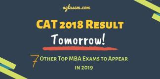 CAT 2018 Result Releasing Tomorrow