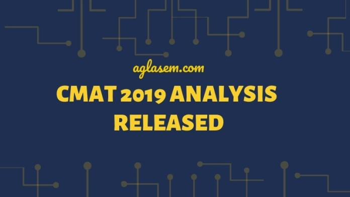 CMAT 2019 Analysis Released