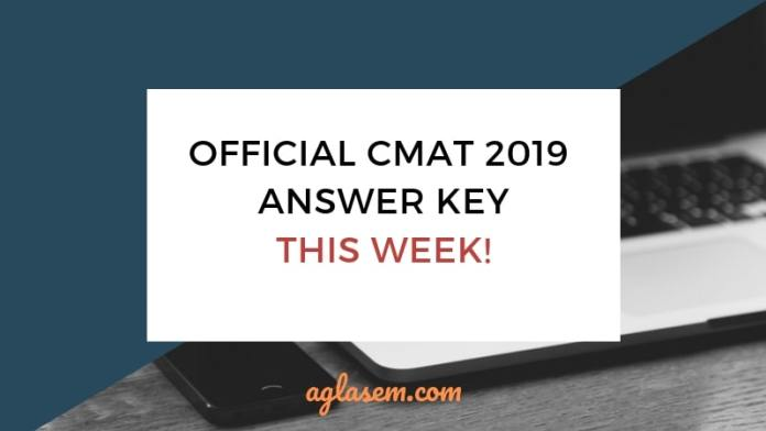 CMAT 2019 Answer Key by NTA Releasing This Week