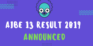 AIBE 13 Result 2019 Announced