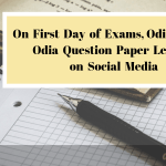 On First Day of Exams, Odisha HSC Odia Question Paper Leaked on Social Media-min