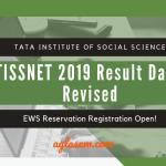 TISSNET 2019 Result New Date