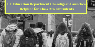UT Education Department Chandigarh Launches Helpline for Class 9 to 12 Students