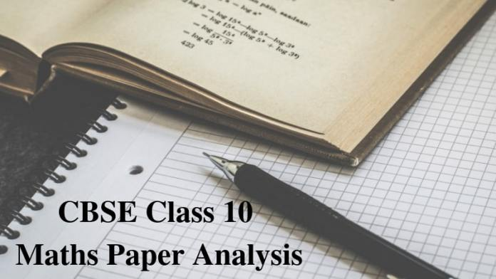 CBSE Class 10 Maths Paper Analysis