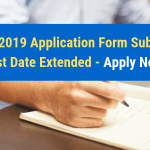 JEECUP 2019 Application Form Submission Last Date Extended