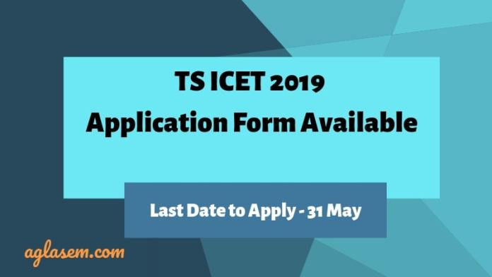 TS ICET 2019 Application Form Available