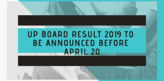 UP Board Result 2019 to be Announced Before April 20