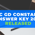 SSC GD Constable Answer Key 2019 Released