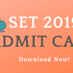 SET 2019 Admit Card