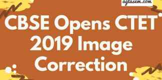 CTET 2019 Image Correction Aglasem