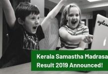 Kerala Samastha Madrasa Result 2019