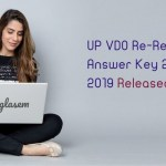 UP VDO Re-Revise Answer Key