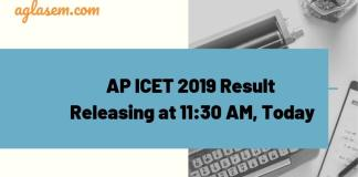 AP ICET 2019 Result Releasing Today
