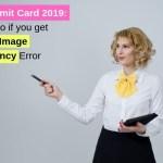 CTET Admit Card Remove Discrepancy