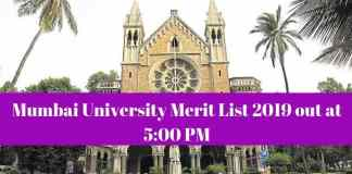 Mumbai University Merit List
