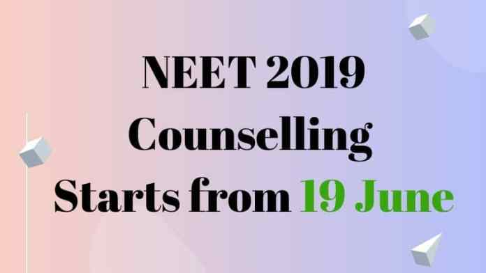 NEET 2019 Counselling